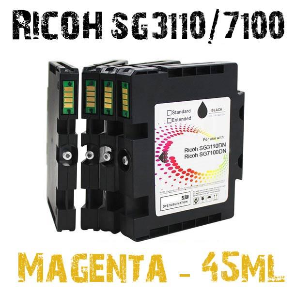 Magenta Sublimation ink cartridge 42ml SG3110DN, SG7100DN