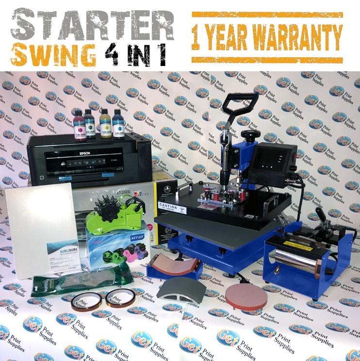 Starter kit heat press