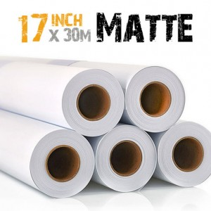 17 inch Inkjet Matte Photo Paper Epson, Hp Canon 220gsm