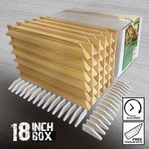 18 inch Gallery Wooden Stretcher Bars - Box