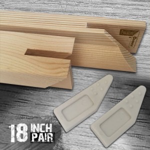 18 inch Gallery Canvas Stretcher Bars - Pair