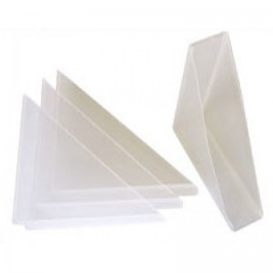 18mm Plastic Canvas Corner Protectors - 100 pcs
