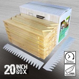 20 inch Regular UK Stretcher Bars - Box
