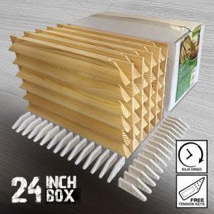 24 inch Wooden Stretcher Bars - Gallery Box