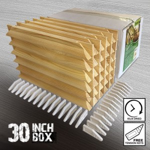 30 inch Gallery Canvas Stretcher Bar Frames - Box