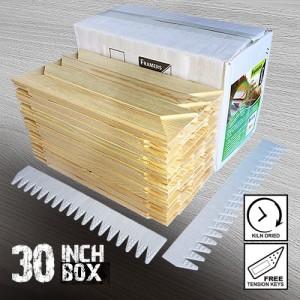 30 inch Regular UK Stretcher Bars - Box