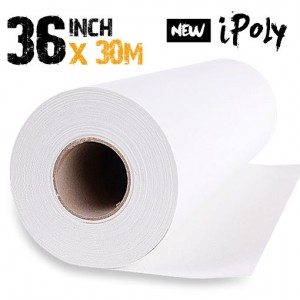 36 inch Inkjet Polyester Canvas Roll 30m - 280gsm
