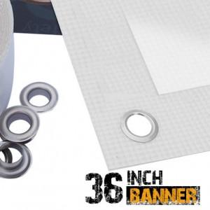 36 inch Inkjet PVC Banner Scrim Printable - 440gsm