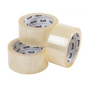3 Inch Wide Clear Packing Tape x 66m roll