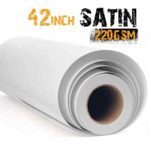 42 inch Inkjet Satin Photo Photo Paper Media 220gsm