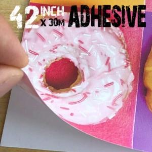 42 inch Self Adhesive Inkjet Printable Wallpaper 300gsm