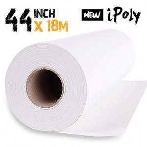 44 inch Inkjet Polyester Canvas Roll 18m - 280gsm