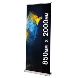 Deluxe Roll Up Banner Stand Cassette 850 x 2000mm