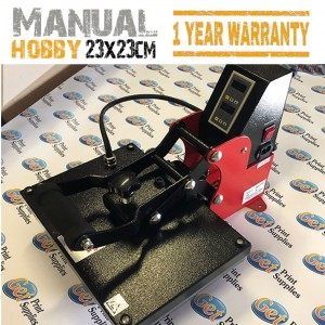 Manual Hobby Heat Press Machine A4