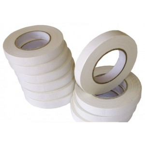 White Cloth Canvas Tape 20mm x 50m Roll
