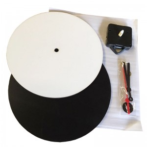 MDF Sublimation Clock 20cm
