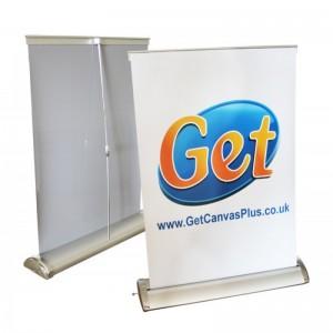 Desktop A3 Roller Banner Stand