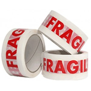 Fragile Packing Tape 48mm x 60m Roll