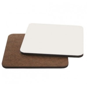Sublimation MDF Square Coaster Blank 9.5cm