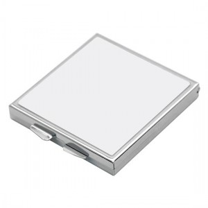 Sublimation Square Compact Mirror