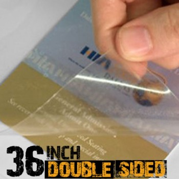 36 inch Double Sided Lamination Film for Acrylic