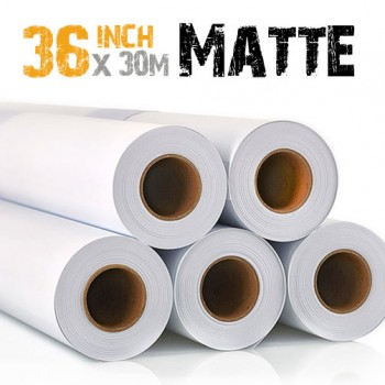 "36"" Inkjet MATTE Photo Paper 220gsm"