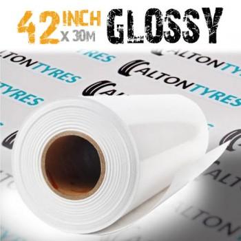 42 inch Gloss self adhesive vinyl roll