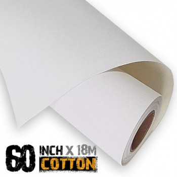 60 inch Inkjet Cotton Canvas Roll 18m - 340gsm