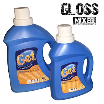 Gloss Canvas Varnish Liquid - 1 Litres