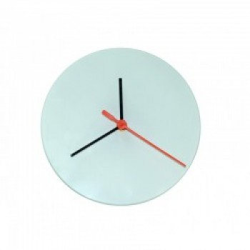 Glass Sublimation Clock 20cm