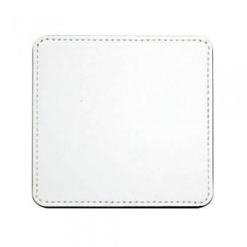 Flexi Leather Coaster - Square 10cm