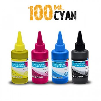 Cyan Sublimation bottle 100ml for ricoh printers