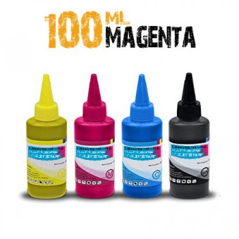 Magenta Sublimation bottle of Ink 100ml for bulk ricoh printers