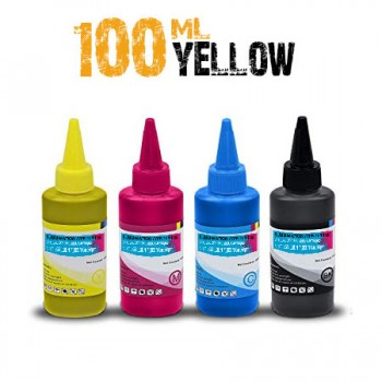 Yellow Sublimation bottle 100ml for bulk epson printers