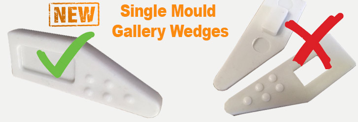 Single Gallery Stretcher Bar Wedge